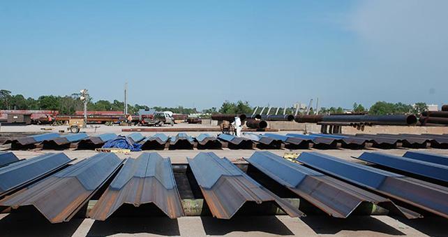 Palplanche Protection contre la corrosion
