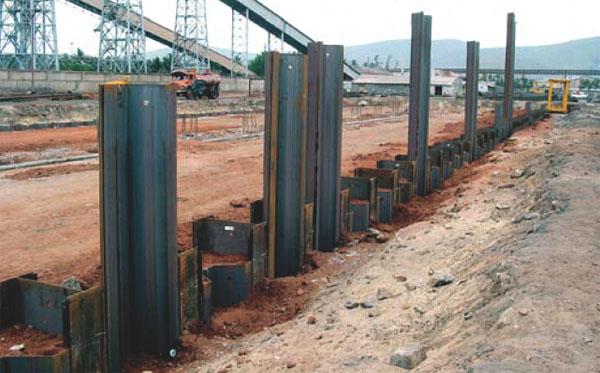 Réduction de Moment pour les Murs de Palplanche Ancrée