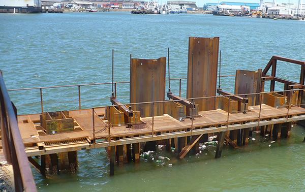 Palplanche dans les applications marines