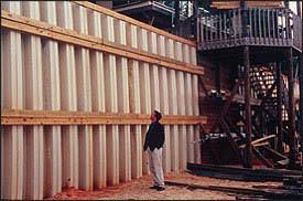 Comment utiliser les murs palplanche