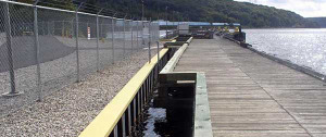 Palplanche en acier Bulkhead - Galeas Ferry CT